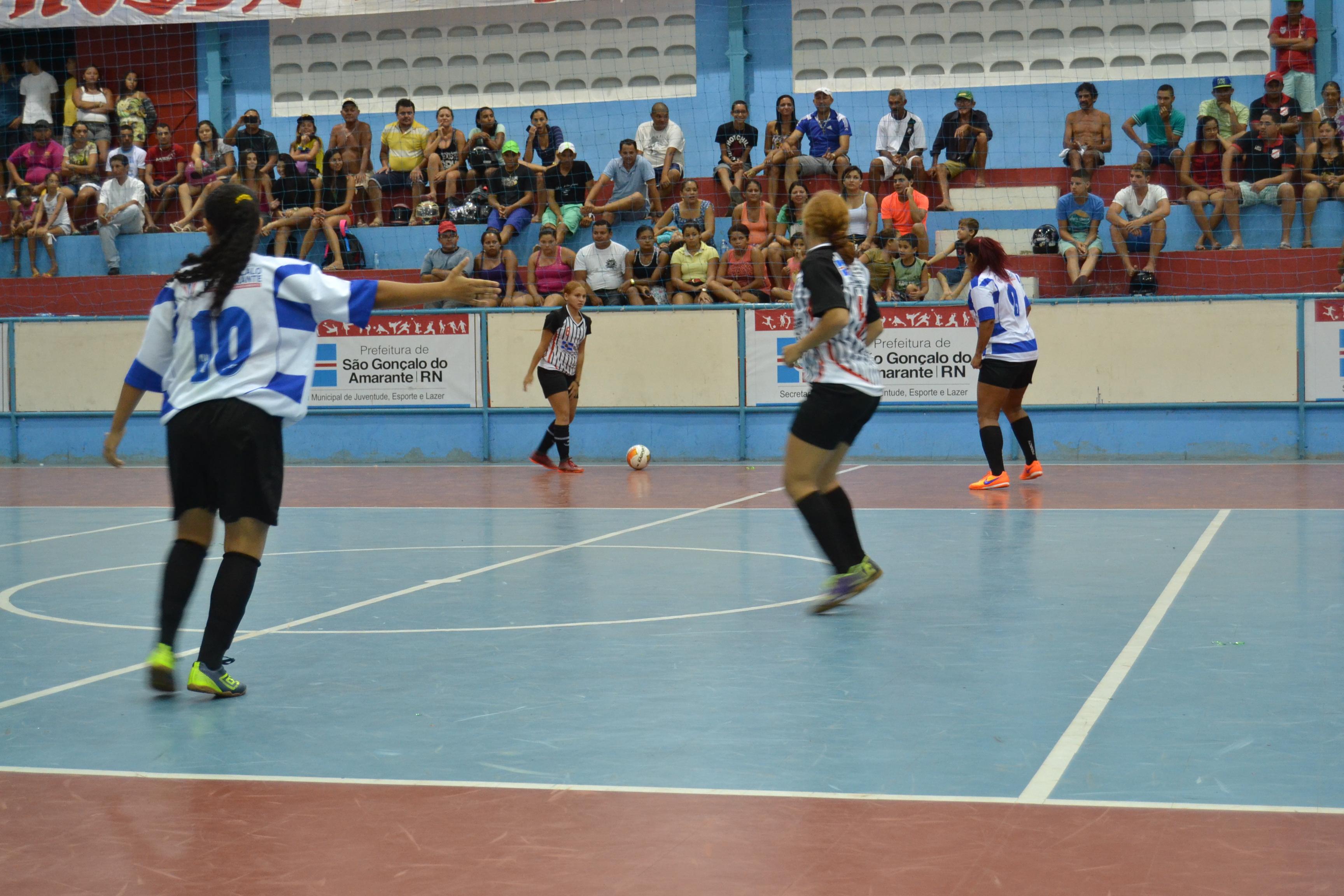 5c38014429032 Sábado com partida de estreia pelo Campeonato São-gonçalense de Futsal  Feminino