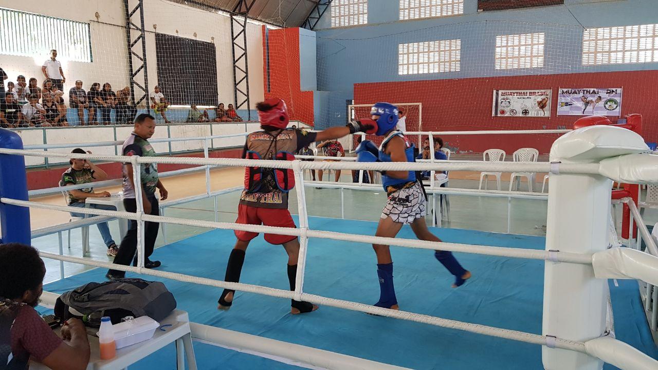 f96edc4556 Atletas do RN disputaram o 1º Open São-gonçalense de Kickboxing
